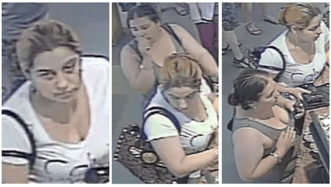 Submitted security photo of the two women, who Carson City Sheriff's deputies believe stole several pieces of jewelry from a local store.