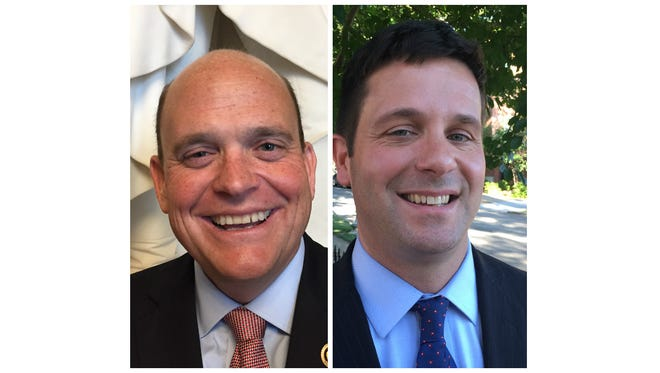 Republican Rep. Tom Reed and Democrat John Plumb are running in New York's 23rd Congressional District.