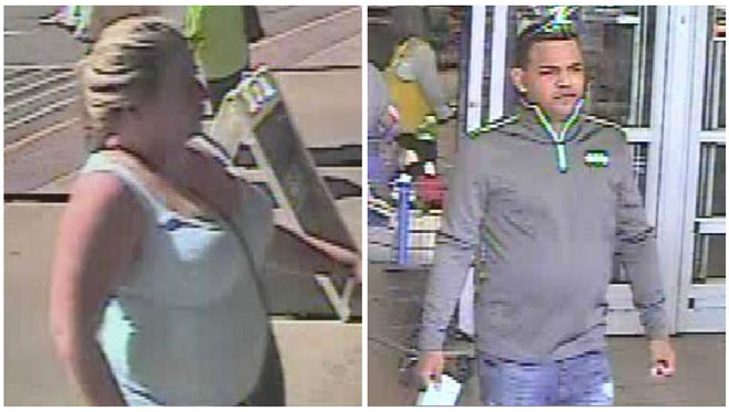 These two are suspects in an identity theft case being pursued by Prattville Police Department.
