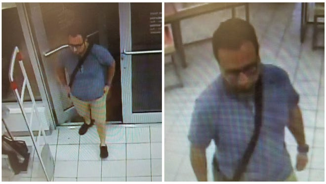 Southwest Florida Crime Stoppers is asking for the public's help identifying the unknown male who entered the Ulta beauty store at 13499 S. Cleveland Ave. and helped himself to the cosmetics last week.