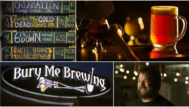 Bury Me Brewing is one of 13 breweries in Southwest Florida featured in The News-Press' upcoming series, Behind The Brewery (BTB). BTB reveals the origins and unique features of each brewery.