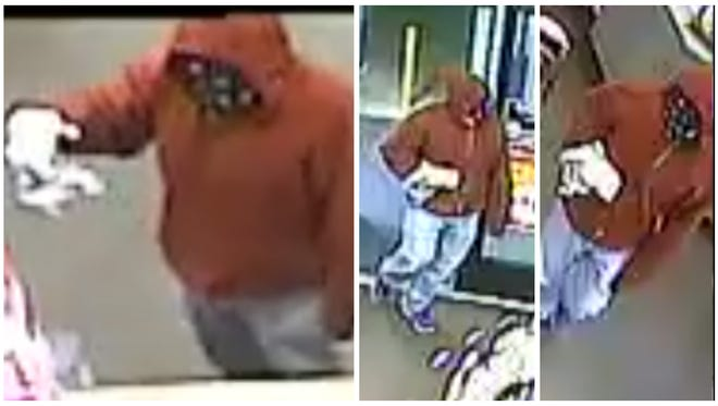 Information on the person who robbed the Circle K on Metro Parkway at Crystal Drive Monday is being sought.
