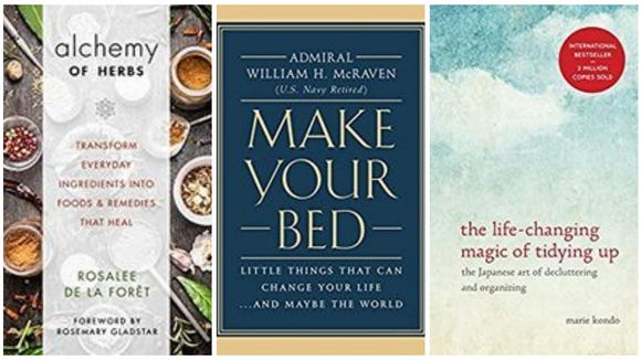 Springtime books to add to your reading list.