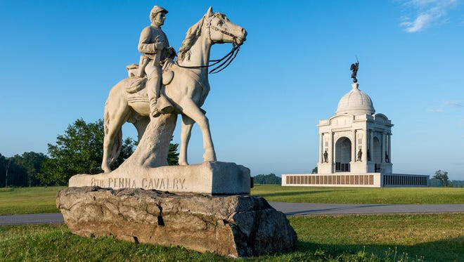 "10. GETTYSBURG NATIONAL MILITARY PARK Cost to visit: $9 and up  The famous Pennsylvania battlefield, also the site of Abraham Lincoln's Gettysburg Address, requires two full days if you want to see it all. Start at the visitor center to watch the film ""A New Birth of Freedom"" and the immersive Cyclorama painting with its sound and light show. Head to the museum to explore interactive exhibits and artifacts and take a guided tour of the battlefield.  On your second day, visit the Soldiers' National Cemetery, site of the Gettysburg Address and where many soldiers have been laid to rest. Continue on to see the Eisenhower National Historic Site and the David Wills House, where Lincoln polished his famous speech."