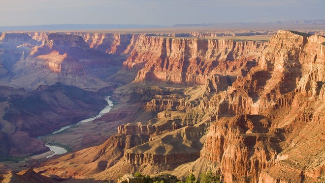 Arizona: Heralded as one of the wonders of the natural world, the Grand Canyon is nothing less than breathtaking. There's more than one way to see this bucket list destination. Head to Grand Canyon West to get a bird's-eye view from the glass-bottomed Skywalk. Admission to the park and a Skywalk ticket costs $82.37 for adults. Visit another natural wonder in nearby Peach Springs, Ariz. — Grand Canyon Caverns, the largest dry caverns in the U.S. Begin your exploration by descending into the cave in a 21-story elevator. Tours start at $15.95 and up for adults. You can even stay overnight in the main cavern for $850, which has zero percent humidity and might be one of the darkest and quietest places you'll ever encounter.