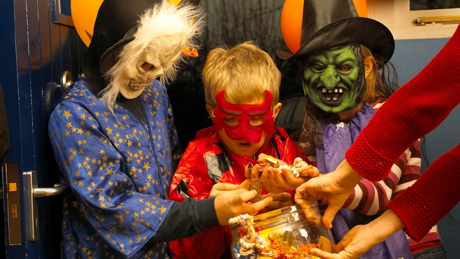 Tuesday night, the streets will be filled with ghouls and goblins looking going door to door, looking for candy.