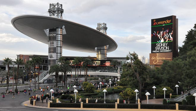 The Fashion Show Mall on the Las Vegas Strip was the scene of a shooting Tuesday. One man has been arrested.
