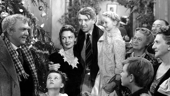 """""""It's a Wonderful Life"""" was a film released in 1946 starring James Stewart, Donna Reed and Lionel Barrymore."""