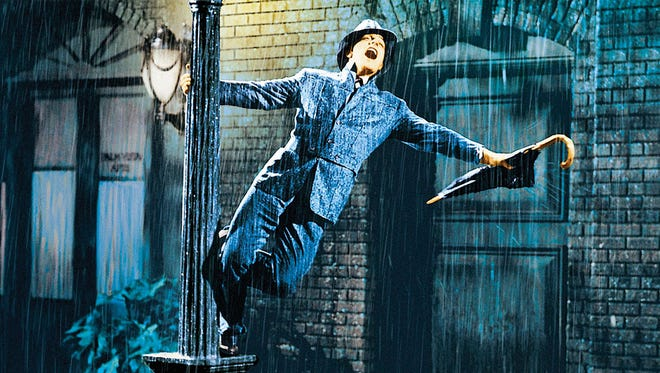 """A record month of rain has San Angelo as happy as Gene Kelly in this scene from """"Singin in the Rain."""""""