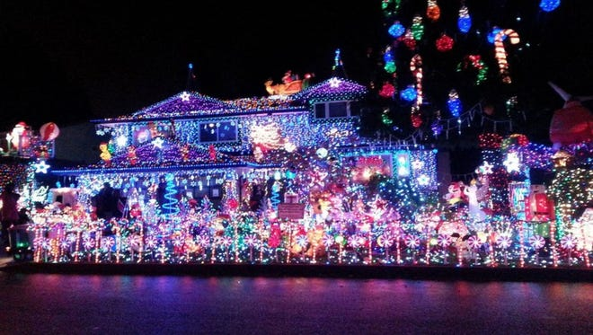 Neighborhoods With The Most Outrageous Christmas Lights In