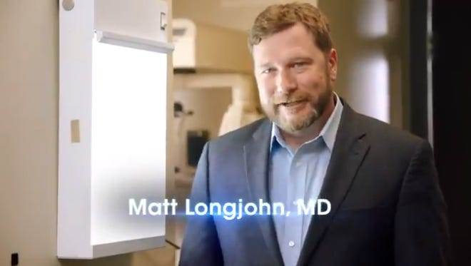 Matt Longjohn is running as the Democratic nominee in 2018 against U.S. Rep. Fred Upton, R-St. Joseph.