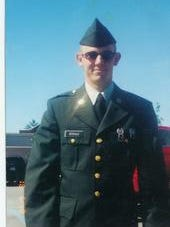 Abrams M1A1 tank driver Spc. Jonathan Stehle, Agifa Constable's friend and roommate in Germany.