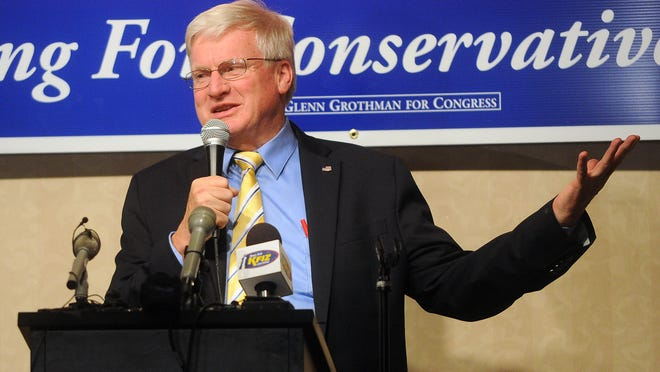 U.S. Rep. Glenn Grothman (R-Wis.) was one of nine GOP congressman to oppose renaming a post office in Winston-Salem, N.C. to honor civil rights activist Maya Angelou.