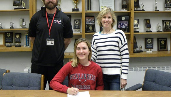 Maddie Dill achieved great success as a four-year varsity