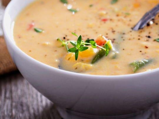 Mashed Potato Corn Chowder