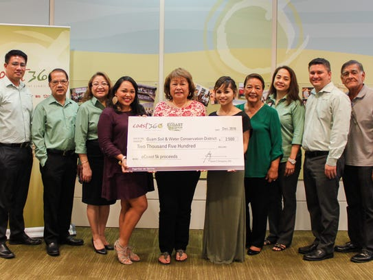 Coast360 donated to Guam Soil and Water Conservation,