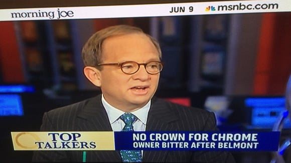 Financier Steven Rattner discusses aftermath of the Belmont Stakes on MSNBC's Morning Joe, including the rant of California Chrome co-owner Steve Coburn and problems people had leaving Belmont Park.