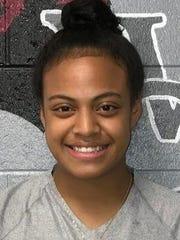 West Creek senior volleyball player Adrienne Roberts