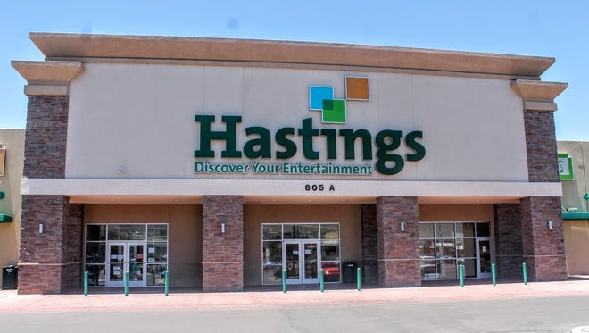 Hastings, 805 N. White Sands Blvd. will continue to run their normal business hours with a few changes the store has made. The chain announced that they are going through a sale process.