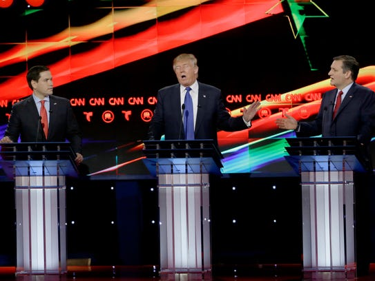 Marco Rubio (izq.) y Ted Cruz (der.) se dedicaron a