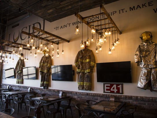 Lucidi Distilling Co.'s Fire Station No. 1 was converted