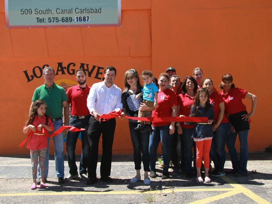 Los Agaves in Carlsbad celebrated the opening on the