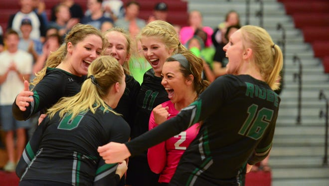The Fossil Ridge (22-3) volleyball team is the No. 1 seed in this weekend's state tournament.
