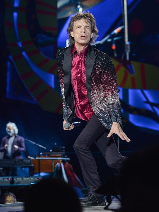 Mick Jagger of the Rolling Stones