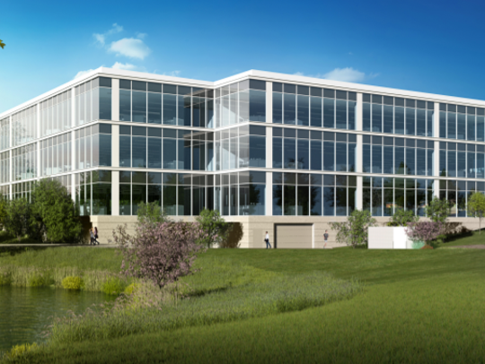 The Schenck accounting firm will be the anchor tenant