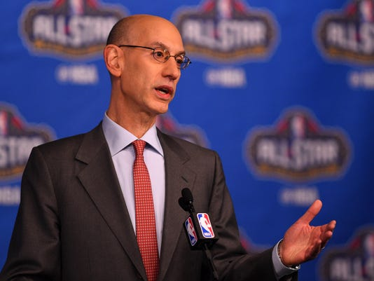 NBA: All Star Game-Commissioner Press Conference