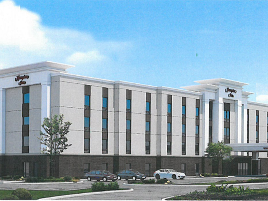 Hampton Inn rendering
