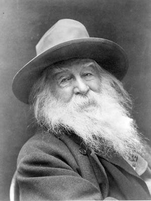 Walt Whitman  in an undated photo in the Library of Congress.
