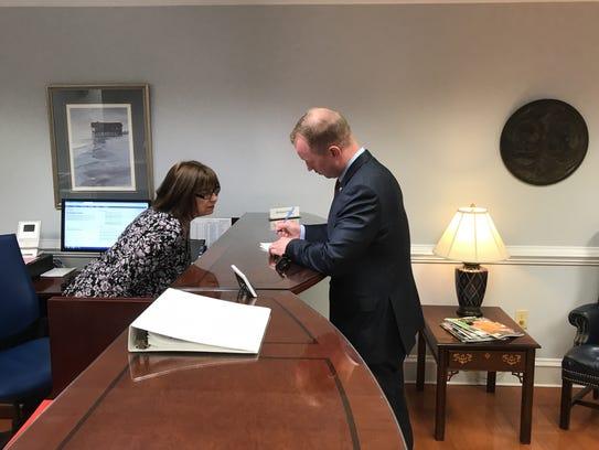 John Warren files to run for governor of South Carolina