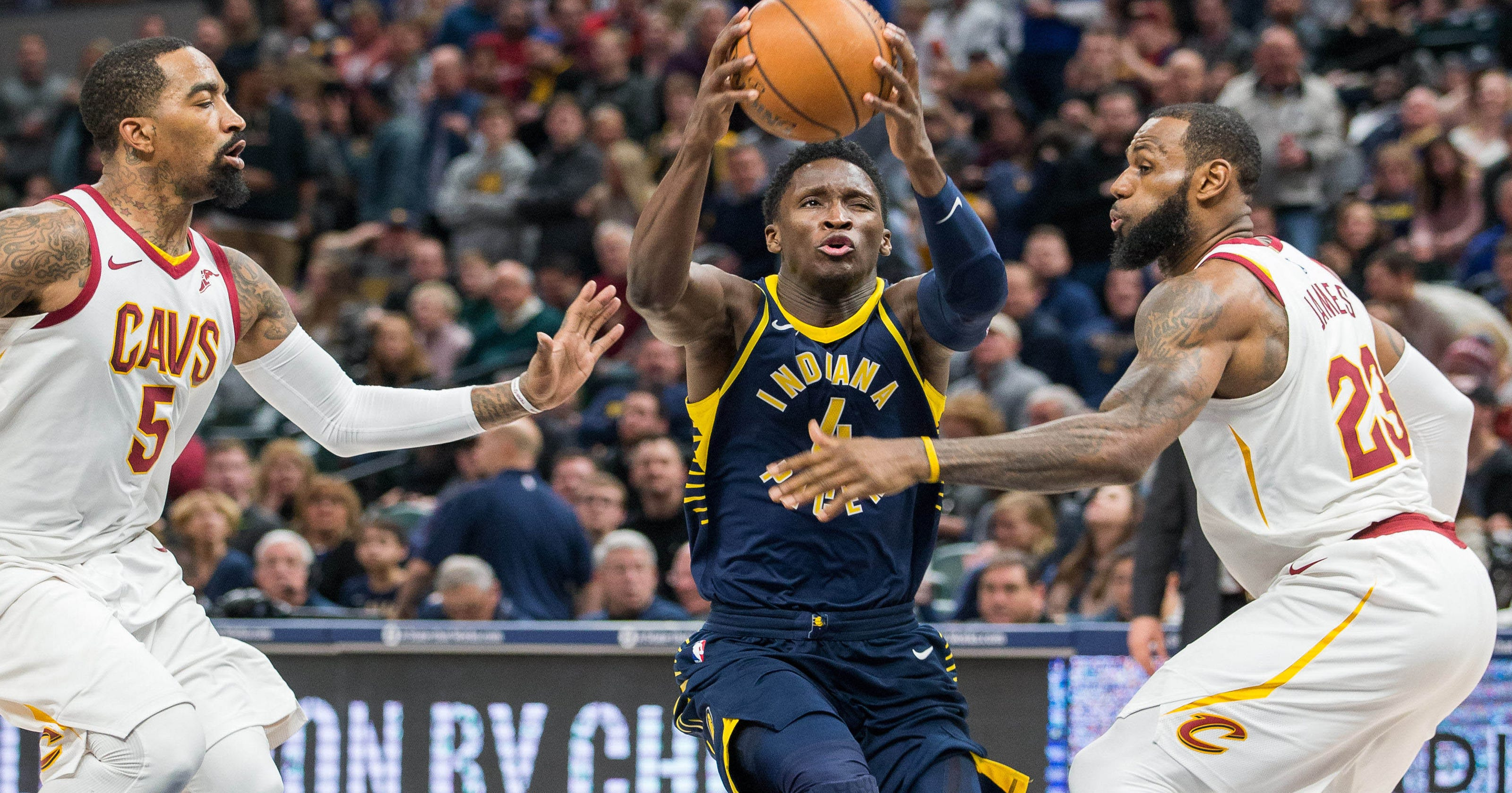c864d4a012b Pacers  Victor Oladipo is on Team James for the NBA All-Star game