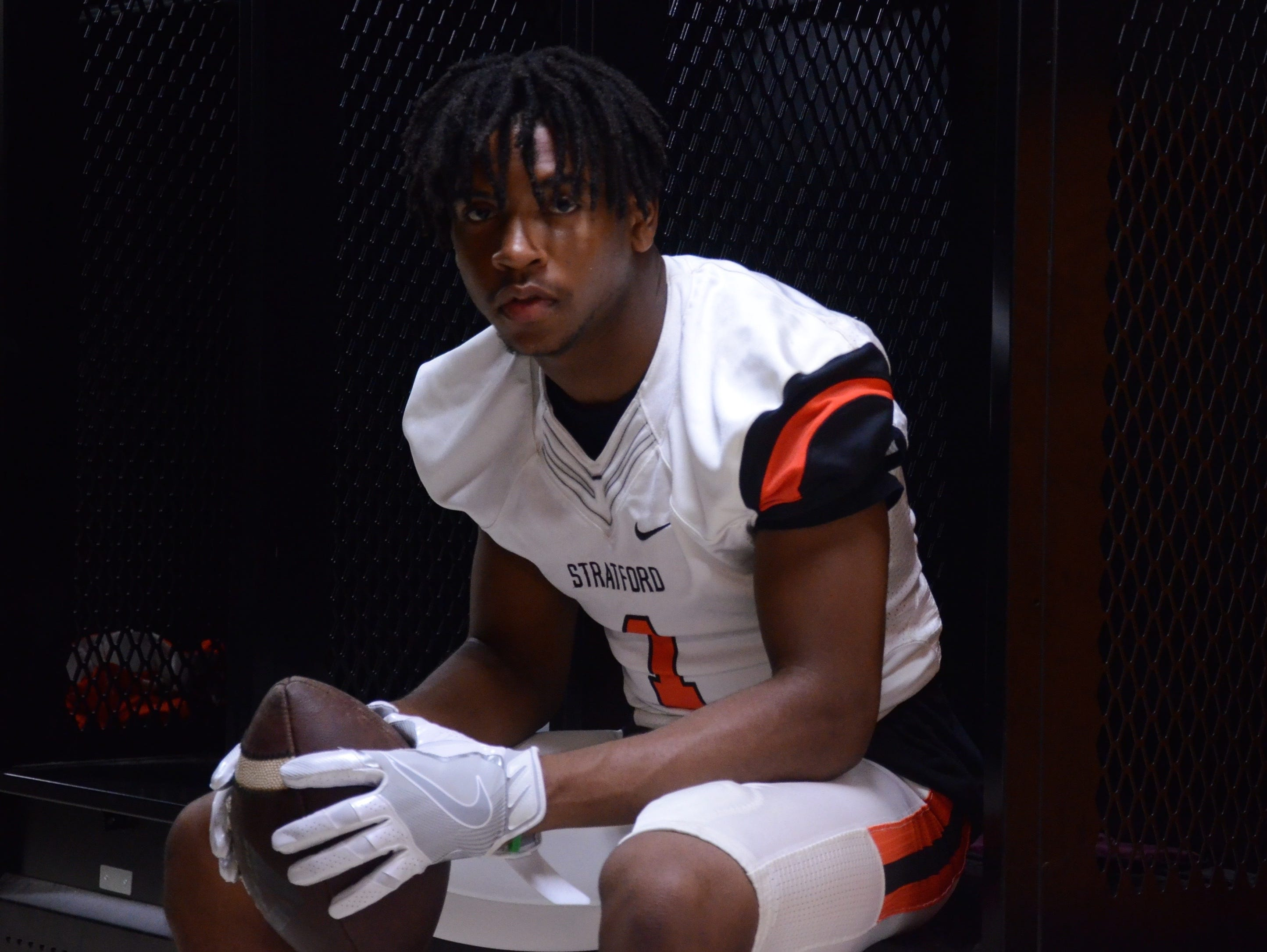 Stratford's T.J. Carter has committed to Memphis.