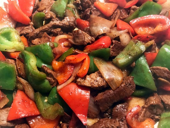 Savory and delicious pepper steak is a perfect meal