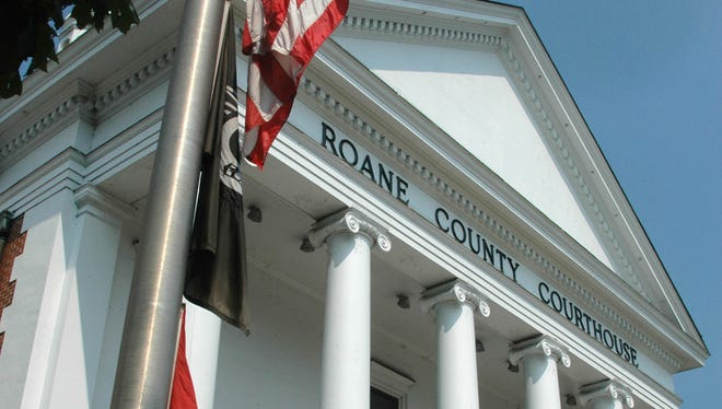The Roane County Courthouse in Kingston.