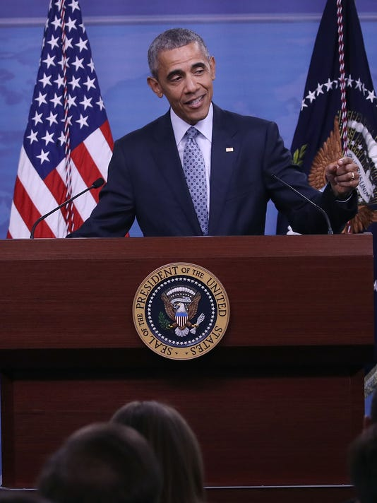 President Obama Chairs A Nat'l Security Council Meeting At The Pentagon On The Counter-ISIL Campaign