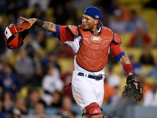 Yadier Molina Puerto Ricos Heart And Soul In The World Baseball Classic