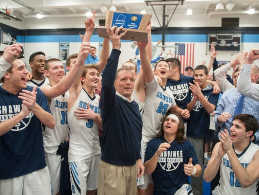 Shawnee wins second straight sectional boys basketball title