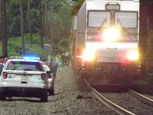 Man dies after being struck by a train in Oradell; NJ Transit service suspended