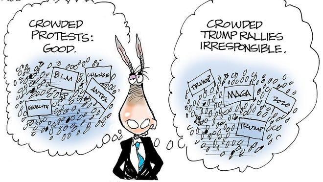Cartoon by Dana Summers