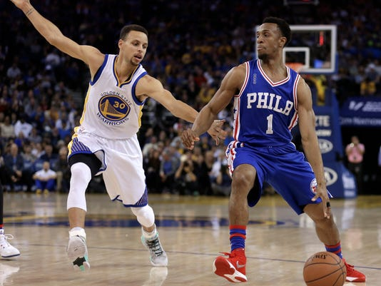Ish Smith, Stephen Curry