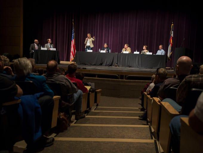 Colorado gubernatorial candidates state their case