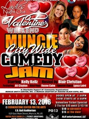 Muncie City Wife Comedy Jam will bring a night of laughs to all ladies on Feb. 13.