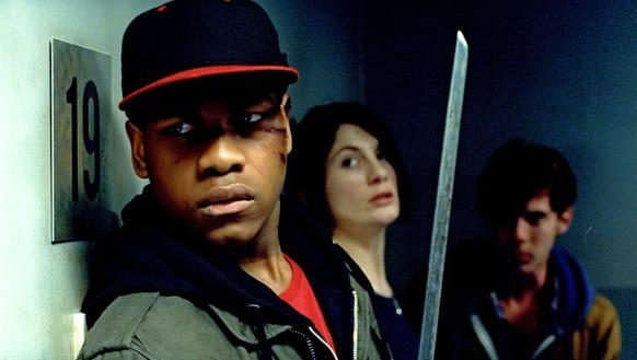 John Boyega as Moses, Jodie Whittaker as Sam and Luke