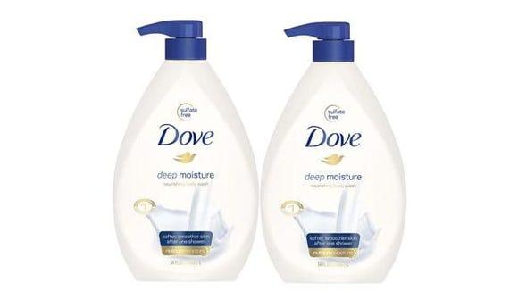 Dove Deep Moisture Body Wash Pump