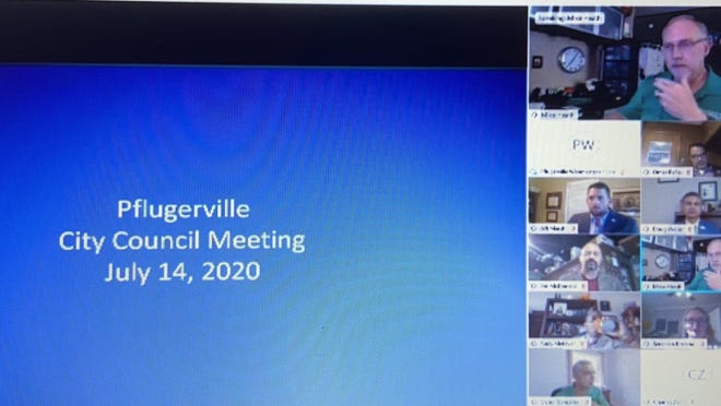 The Pflugerville City Council on Tuesday night discussed the upcoming budget and a possible bond election.