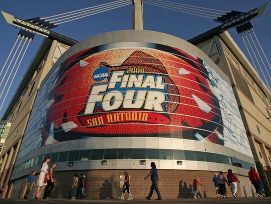 The Final Four was held in San Antonio in 2008 and
