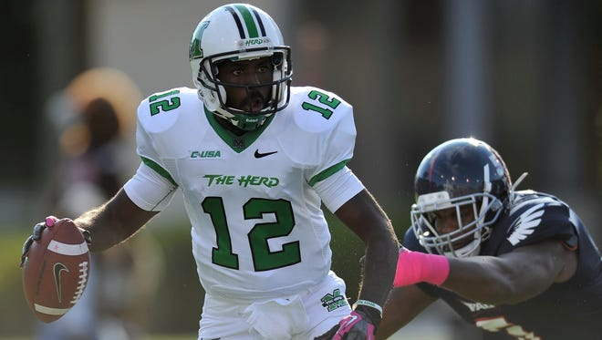 Marshall quarterback Rakeem Cato could be one of the most successful and statistically superior quarterbacks in FBS in 2014.